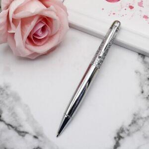 Beautiful Silver Glitter Water Pen Black Ink