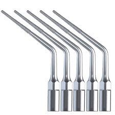 5X Dental Diamond Endo Tips Ultrasonic Piezo Scaler EMS WOODPECKER E3D