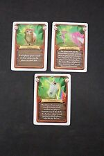 Sea of Clouds Board Game Kitty, Love Ray and Unicorn Set of 3 Promo Cards