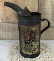 Antique Maytag Company Fuel Mixing Tin Can With Pour Spout Newton Iowa