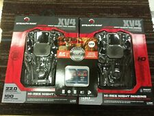 2 Stealth Cam XV4 STC-XV4 Trail Cams w/ SD Card 4GB Memory Cards - 2-Pack, NEW