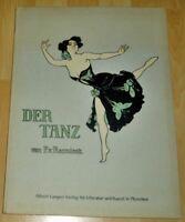 Der Tanz : Album. von Reznicek, F.: