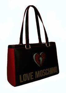 Women's Handbag Mano Or Shoulder Love Moschino Article JC4256PP0BKJ PU - CM 36x