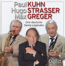 PAUL KUHN,HUGO STRASSER,MAX GREGER - 4 CD - Drei Deutsche Swing-Legenden