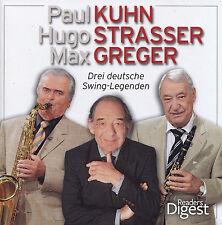 PAUL KUHN,HUGO STRASSER,MAX GREGER - 4 CD - Drei Deutsche Swing-Legenden
