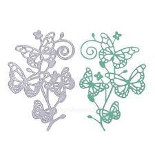Schmetterling Stencil Cutting Dies Scrapbooking Karte Tagebuch Stanzschablone
