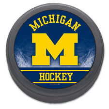 University of Michigan Souvenir Hockey Puck