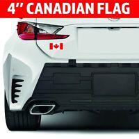 """4"""" Canadian Flag Bumper Sticker Vinyl Decal Canada Maple Leaf Macbook JDM Decal"""