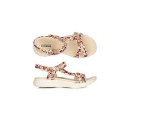 SKECHERS Damen-Sandale On-the-Go-600 Reptil-Optik GoGa Mat Technologie