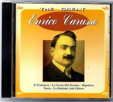 ENRICO CARUSO - The Great - SPAIN CD Intermusic 1997 - 15 Canciones / 15 Tracks