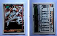 Billy Ripken Signed 1992 Topps #752 Card Baltimore Orioles Auto Autograph