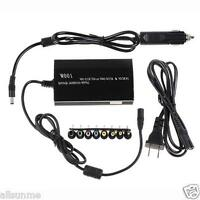 New For Laptop In Car DC Charger Notebook AC Adapter Power Supply 100W Universal