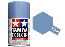Tamiya 85058. Spray TS-58. Pintura esmalte color Azul claro Nacarado