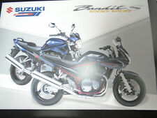 Suzuki Bandit S 1200/1200 motorcycle brochure 2005 Italian text