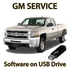 1998-2009 Chevrolet GMC Cadillac Buick Pontiac Service Repair Software on USB