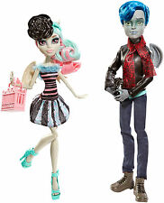 Monster High garrott TU Roque & Rochelle Goyle Scaris Poupée de collection rare cgh17