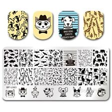 BORN PRETTY Nail Art Stamp Plate Manicure Image Template Animal Design BPL-63