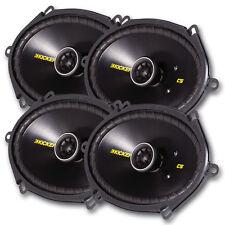"""Kicker CS speakers - 2 pairs of Kicker CS  6 """"x8 """" 40CS684"""