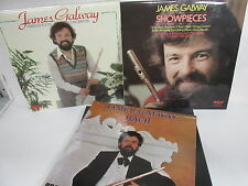 The James Galway Record Box Album set x 3 LP's RCA Red Seal classical music