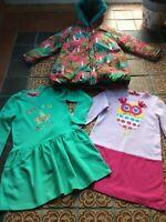 W@W Mustsee * Oilily * Llama Coat * Green Rodeo Jumper Dress * Owl Dress 8yr