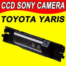 CCD car reverse camera for Toyota Yaris rear view back up parking waterproof HD