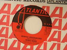 Herbie Mann 45 MEMPHIS UNDERGROUND bw NEW ORLEANS Atlantic VG++