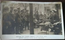 COLOGNE BRITISH EMPIRE LEAVE CLUB Lunch SOLDIERS Occupation Force Photo PC c1920