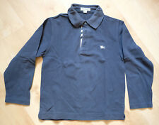 Polo BURBERRY manches longues - Taille 8 ans