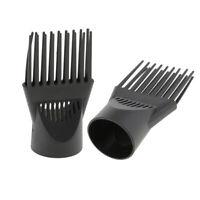 2 Diffusore per asciugacapelli per saloni Attacco per ugello a pettine