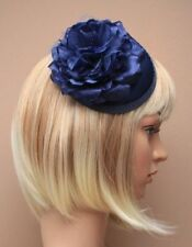 Feathers Clip Satin Fascinators for Women