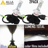 Alla Lighting LED Muti-Color H7LL Fog Light Bulb Headlight Bulb Running Light