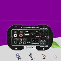 Auto Amplificatore di Potenza Altoparlante Basso Audio Stereo Subwoofer Tf MP3