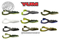 YUM Tip Toad Topwater Buzz Frog 4in 5pk - Pick