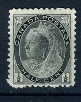 1898 Canada Stamp:1/2c; Queen Victoria; SC#74; MLH & OG; CV=$16;  s11