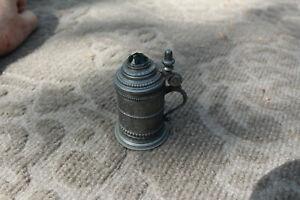 Vintage Heidelberg Miniature Lidded Stein with Stone