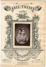 Quinet Alexandre, Paris-Théâtre, Céline Montaland (1843-1891), actrice Vintage a