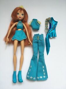 WINX Club Original Season One BLOOM Doll 2004, 2nd Outfit RARE