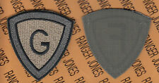 "Unknown ACU & OCP ""G"" patch OEF Afghaistan made Hook & Loop"