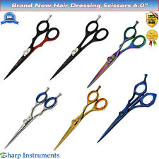 "Hairdressing, Hair Cutting Shears 6"" Hair Thinning Barber Salon Styling Scissor"