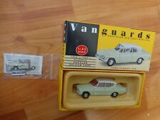 CORGI VANGUARDS 1/43 SCALE VA35000 LIME GREEN / WHITE FORD CLASSIC 109E CAR