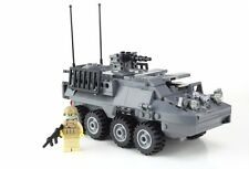 Stryker APC Military Armored Vehicle made with real LEGO® bricks