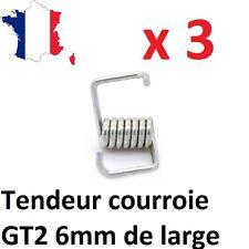 Lot de 3 tendeurs de courroie GT2 6mm pour imprimante 3D, Anet A8, cnc, DIY