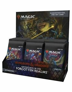 MTG Adventures in the Forgotten Realms Set Display - Pre-Order - Ships 7/23/21