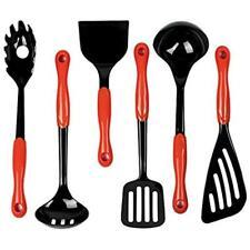 Jazava Tool & Gadget Sets Kitchen Utensils - 6-Pieces Nylon Cooking For Nonstick