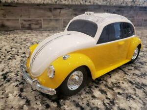 VW Beetle Bug Big Bluetooth Speaker YELLOW color FREE US SHIPPING