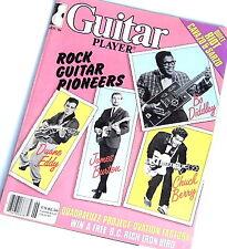 Quadrafuzz FUZZ Effect Instructions & Vintage GUITAR PLAYER MAGAZINE JUNE 1984