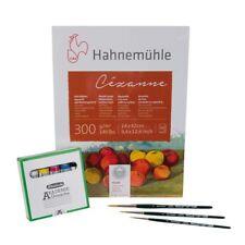 Schmincke Akademie Gouache Set - Farben + Pinsel + Papier