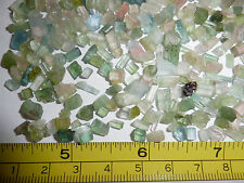 Clear Green Tourmaline Very Small Pieces Rough Stone 5000 carat Lot 1 KG Kilo