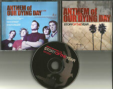 STORY OF THE YEAR Anthem of Our Dying Day USA PROMO DJ CD single PROCD101293