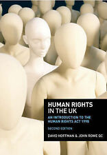 Human Rights in the UK: An Introduction to the Human Rights Act 1998 by Hoffman